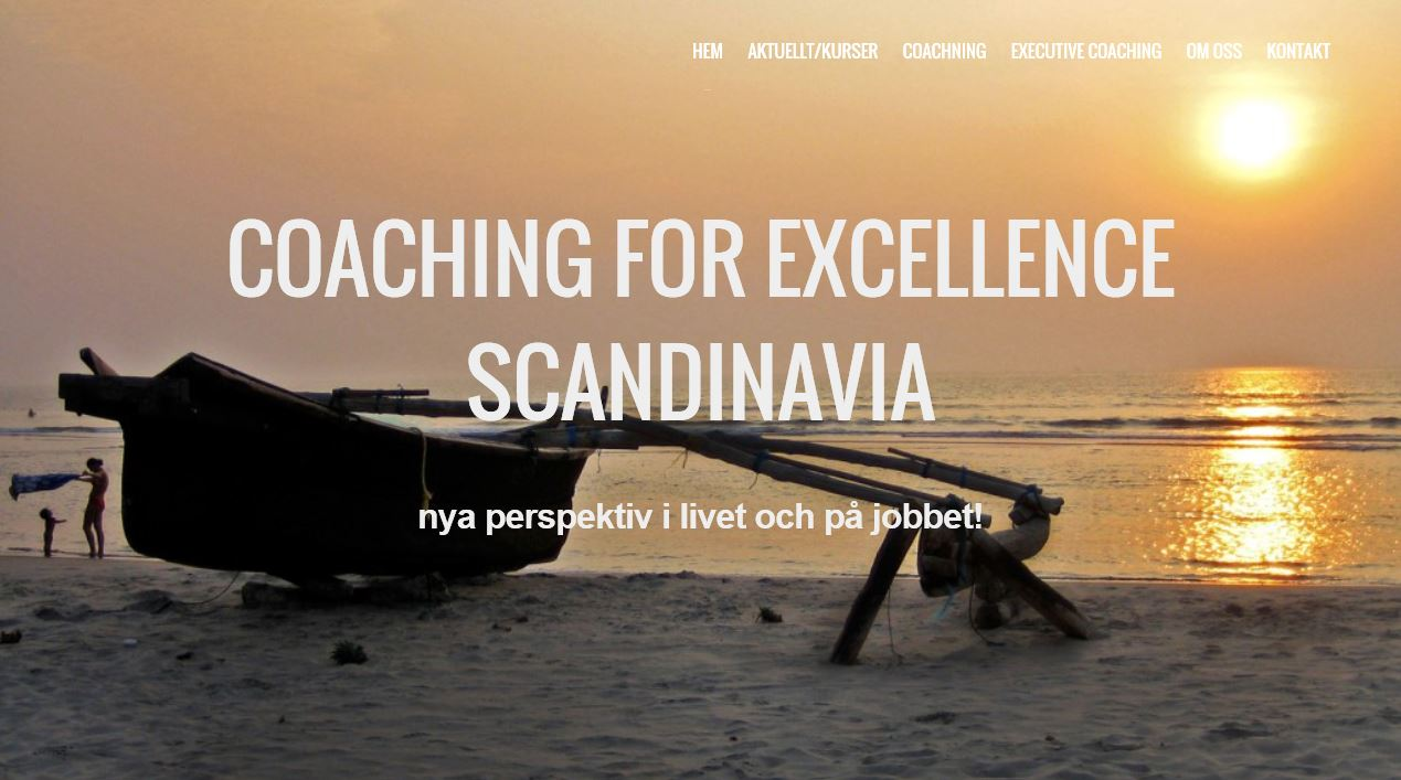 Coaching for Excellence Scandinavia